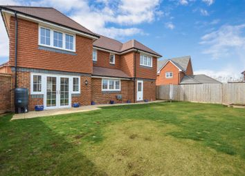 Thumbnail 4 bed detached house for sale in Howes Crescent, Bishopdown, Salisbury