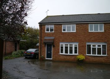 Thumbnail 3 bed semi-detached house to rent in Spencer Way, Stowmarket, Suffolk