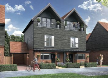 Thumbnail 3 bed semi-detached house for sale in Chilmington Lakes, Chilmington, Ashford, Kent