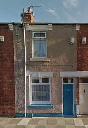 Thumbnail 2 bed terraced house to rent in Grasmere Street, Hartlepool
