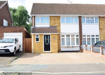 Thumbnail 3 bedroom semi-detached house for sale in Oakwood Close, Loveswood, Stevenage, Hertfordshire