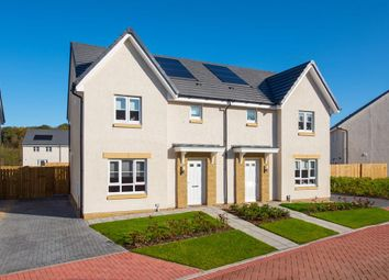 "Thumbnail 3 bedroom semi-detached house for sale in ""Craigend"" at Prospecthill Road, Motherwell"