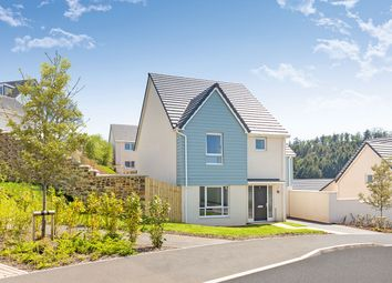 "Thumbnail 4 bed detached house for sale in ""The Kennford"" at Primrose, Weston Lane, Totnes"