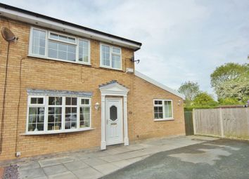 Thumbnail 4 bed semi-detached house for sale in Denny Close, Upton, Wirral