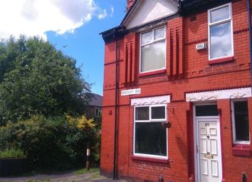 Thumbnail 3 bedroom end terrace house for sale in Brockley Avenue, Fallowfield, Manchester