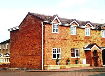 Thumbnail 4 bedroom semi-detached house for sale in Brougham Court, Peterlee