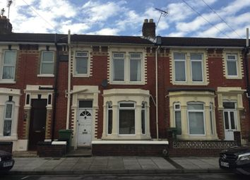 Thumbnail 3 bedroom terraced house to rent in Wallace Road, Portsmouth