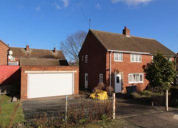 Thumbnail 3 bed semi-detached house for sale in Sandringham Crescent, Worksop