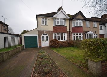 Thumbnail 3 bed semi-detached house to rent in Queen Mary Avenue, Morden
