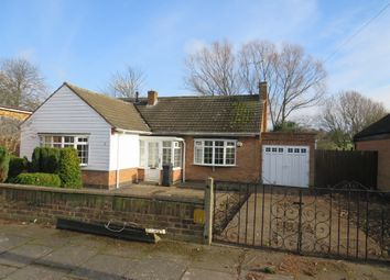 Thumbnail 2 bed detached bungalow for sale in Dawlish Close, Evington, Leicester
