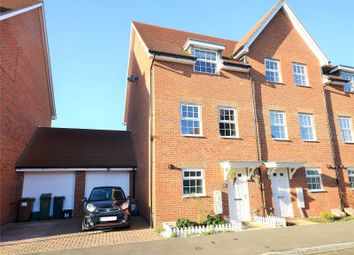 Thumbnail 3 bed end terrace house for sale in The Acres, Horley