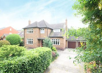 Thumbnail 4 bed detached house for sale in Chestnut Grove, Mapperley Park, Nottingham