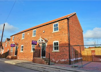 Thumbnail 3 bed semi-detached house for sale in Orchard Street, Doncaster