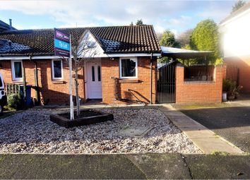 Thumbnail 1 bed bungalow to rent in Laleham Green, Bramhall