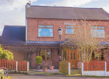 Thumbnail 4 bed semi-detached house for sale in Nel Pan Lane, Leigh, Lancashire