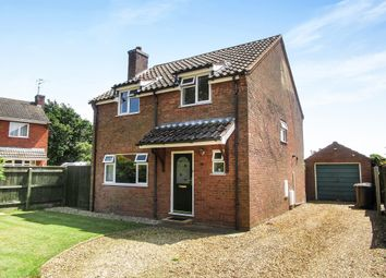 Thumbnail 4 bedroom detached house for sale in Woodside Avenue, Heacham, King's Lynn