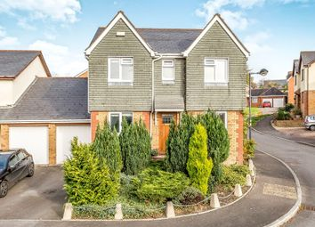 Thumbnail 4 bed detached house for sale in Clos Castell Newydd, Bridgend