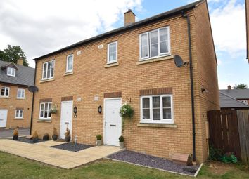 Thumbnail 3 bed semi-detached house for sale in Stockbridge Close, Clifton, Shefford, Bedfordshire