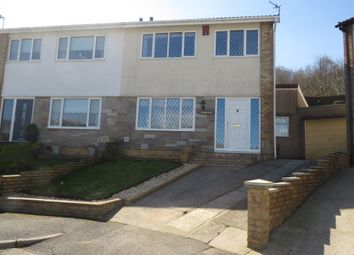 Thumbnail 3 bed semi-detached house for sale in Caemawr Gardens, Porth