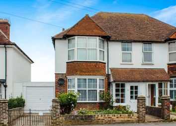 Thumbnail 3 bed semi-detached house for sale in Hindover Road, Seaford