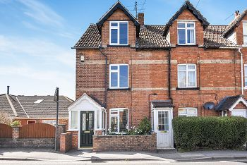 Thumbnail 3 bed end terrace house for sale in Imber Road, Warminster