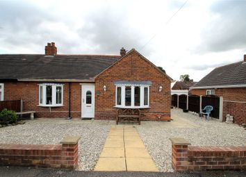 Thumbnail 2 bed semi-detached bungalow for sale in Manor Drive, Featherstone, Pontefract, West Yorkshire