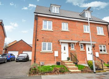 Thumbnail 4 bed town house for sale in Anson Avenue, Calne