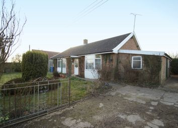 Thumbnail 3 bed detached bungalow for sale in Mill Lane, Bruisyard, Saxmundham