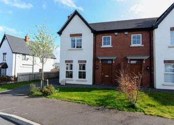 Thumbnail 3 bedroom semi-detached house for sale in Coopers Mill Heights, Dundonald