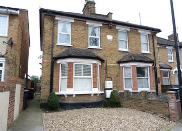 Thumbnail 1 bed flat to rent in Browning Road, Enfield