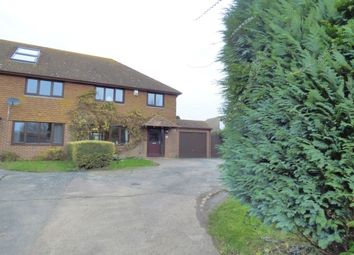 Thumbnail 3 bedroom semi-detached house for sale in The Street, West Hougham, Dover