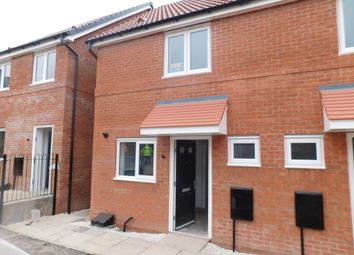 Thumbnail 2 bed town house to rent in Wyndham Way, Pleasley, Mansfield