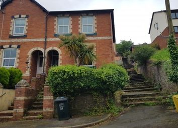 Thumbnail 3 bedroom end terrace house to rent in Spencer Road, Newton Abbot