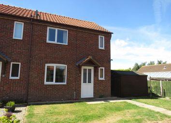 Thumbnail 2 bed end terrace house for sale in Cushing Drive, Little Snoring, Fakenham