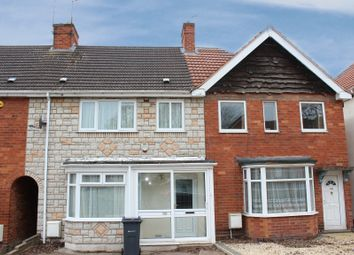 Thumbnail 3 bed terraced house to rent in Gracemere Crescent, Hall Green, Birmingham, West Midlands