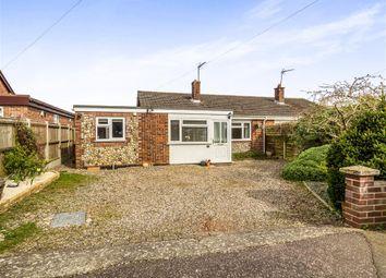 Thumbnail 3 bedroom semi-detached bungalow for sale in Soame Close, Aylsham, Norwich