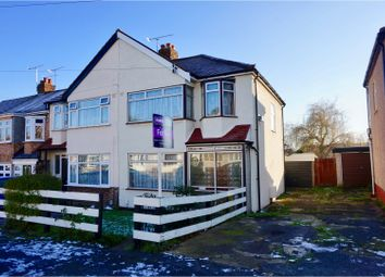Thumbnail 3 bed end terrace house for sale in The Drive, Romford