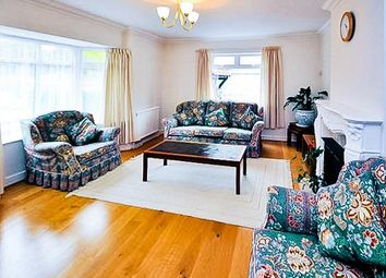 Thumbnail 4 bed detached bungalow to rent in Fairfield Approach, Wraysbury, Staines-Upon-Thames
