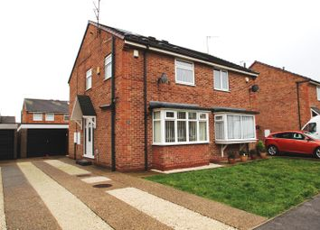 Thumbnail 2 bed semi-detached house for sale in Ashendon Drive, Hull