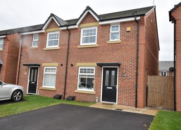 Thumbnail 3 bed semi-detached house for sale in Baines Close, Leigh