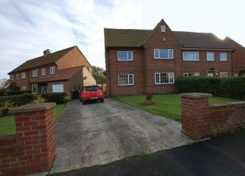 Thumbnail 5 bed semi-detached house for sale in Thornhill Road, Ponteland, Newcastle Upon Tyne