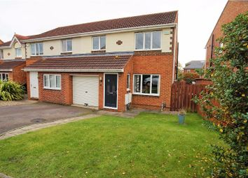 Thumbnail 3 bed semi-detached house for sale in Elmcroft, Darlington