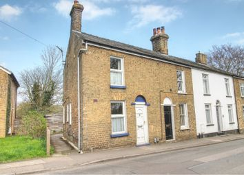 Thumbnail 1 bed end terrace house for sale in Beach Road, Cottenham, Cambridge