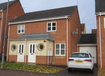 Thumbnail 2 bed semi-detached house to rent in Home Avenue, Thorpe Astley, Leicester