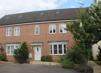 Thumbnail 4 bedroom terraced house for sale in John Davis Way, Watlington, King's Lynn