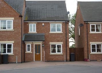 Thumbnail 3 bed semi-detached house to rent in Yew Tree Court, Hatton, Derby