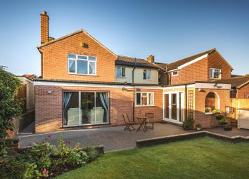 Thumbnail 4 bed detached house for sale in Kings Drive, Littleover, Derby