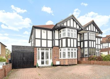Thumbnail 3 bed semi-detached house for sale in Lakeside Drive, Bromley