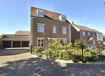 Thumbnail 4 bed detached house for sale in Lyneham Drive, Quedgeley, Gloucester