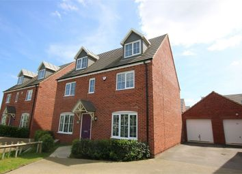 Thumbnail 5 bed detached house for sale in Mayfly Road, Dragonfly Meadows, Northampton